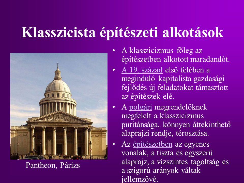 Klasszicista építészeti alkotások