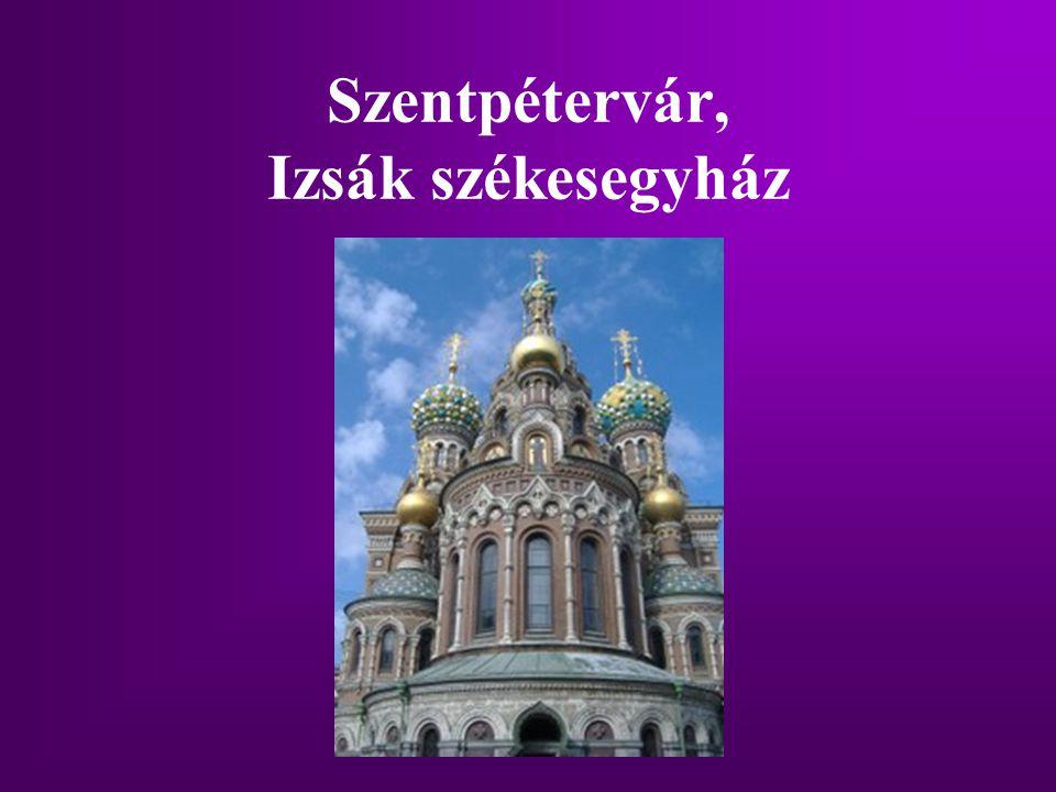 Szentpétervár, Izsák székesegyház