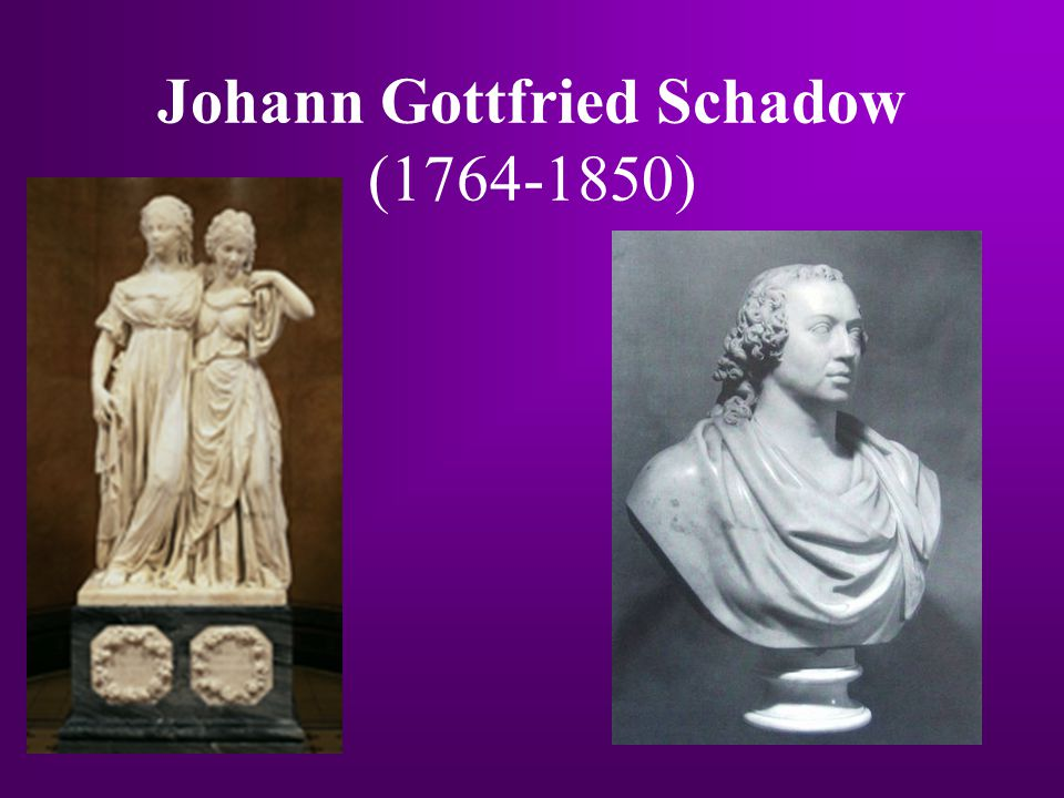 Johann Gottfried Schadow (1764-1850)