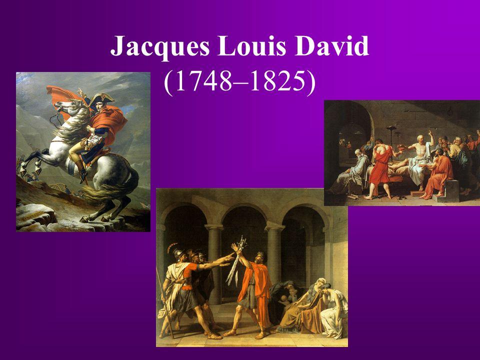 Jacques Louis David (1748–1825)