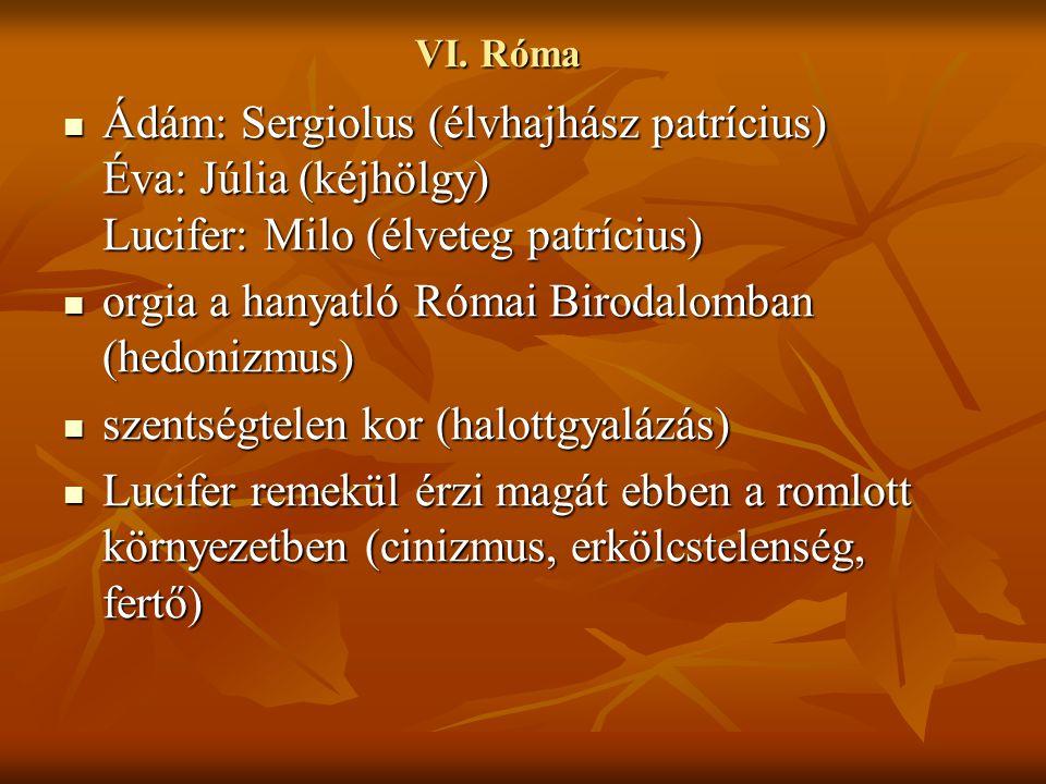 orgia a hanyatló Római Birodalomban (hedonizmus)