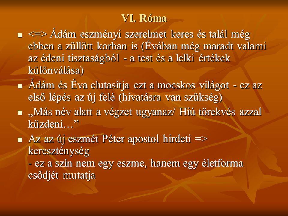 VI. Róma