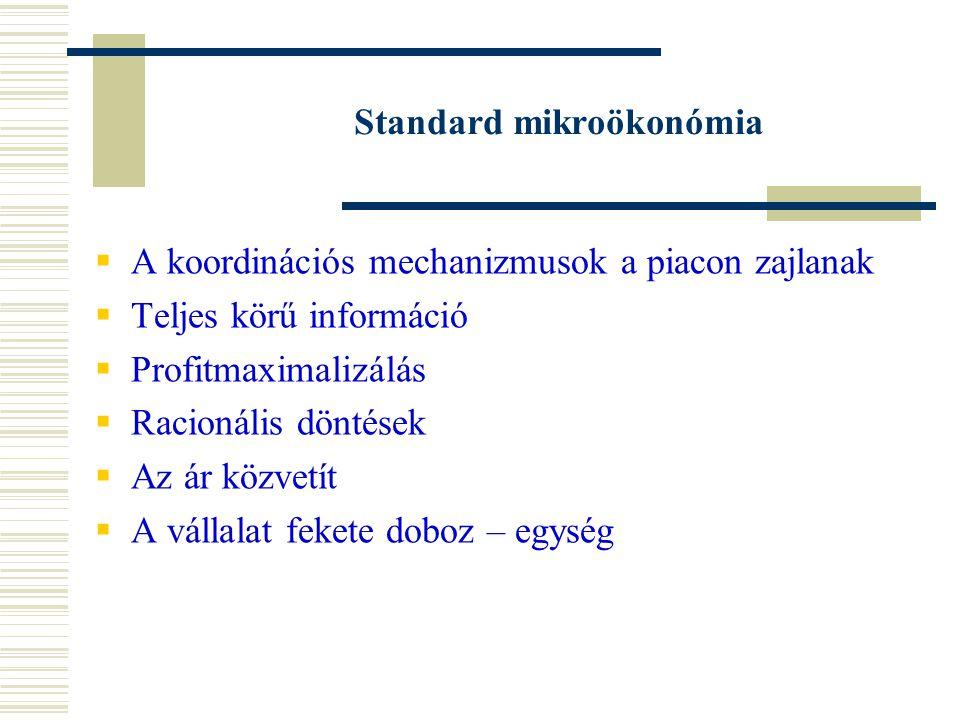 Standard mikroökonómia