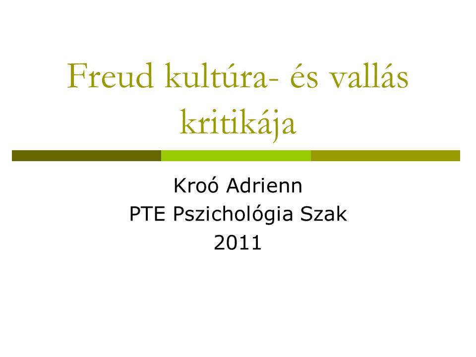 Freud kultúra- és vallás kritikája