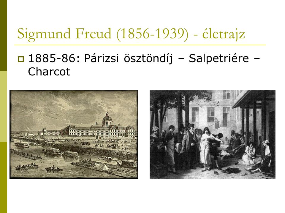 Sigmund Freud (1856-1939) - életrajz