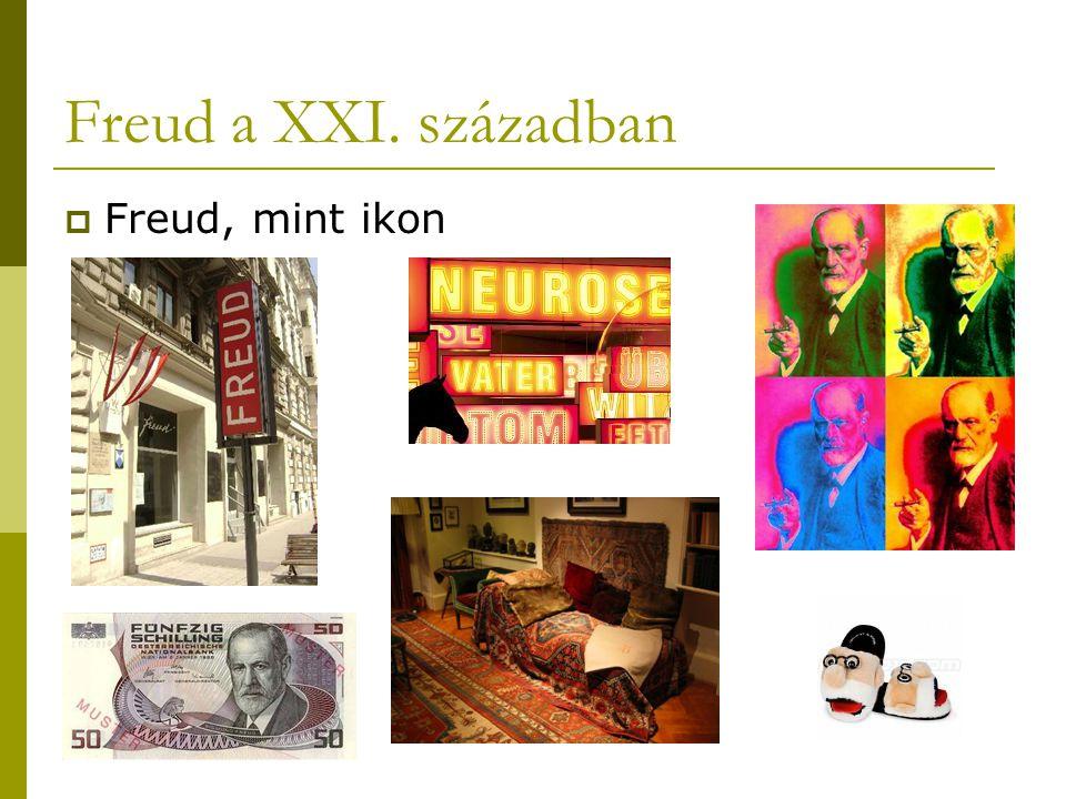 Freud a XXI. században Freud, mint ikon