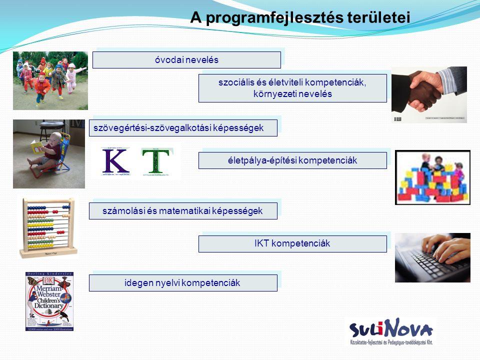 A programfejlesztés területei