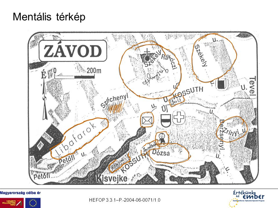Mentális térkép HEFOP 3.3.1–P.-2004-06-0071/1.0