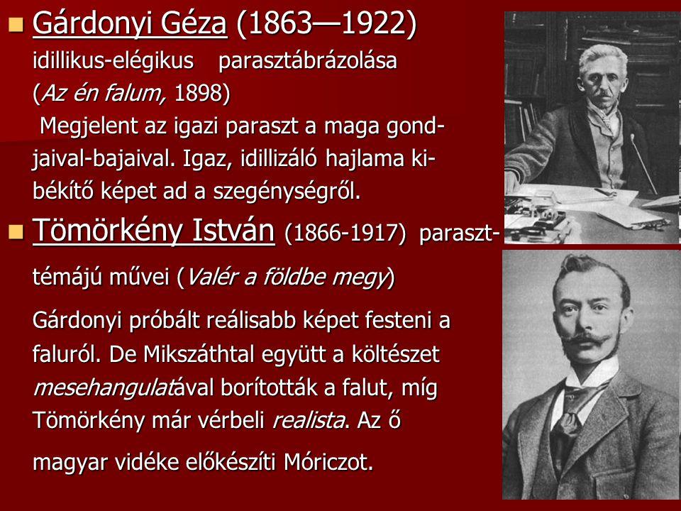 Tömörkény István (1866-1917) paraszt-