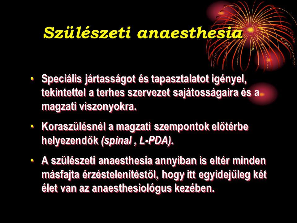 Szülészeti anaesthesia
