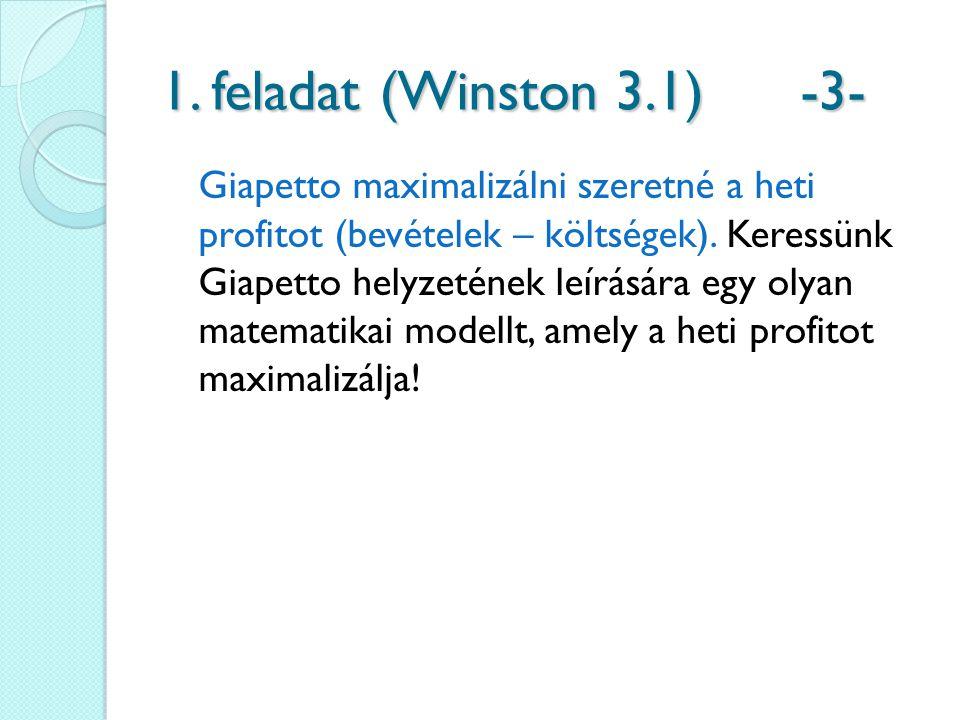 1. feladat (Winston 3.1) -3-