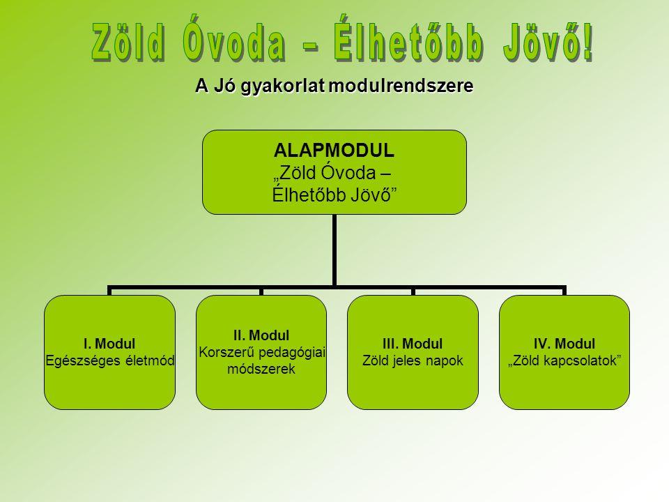 A Jó gyakorlat modulrendszere