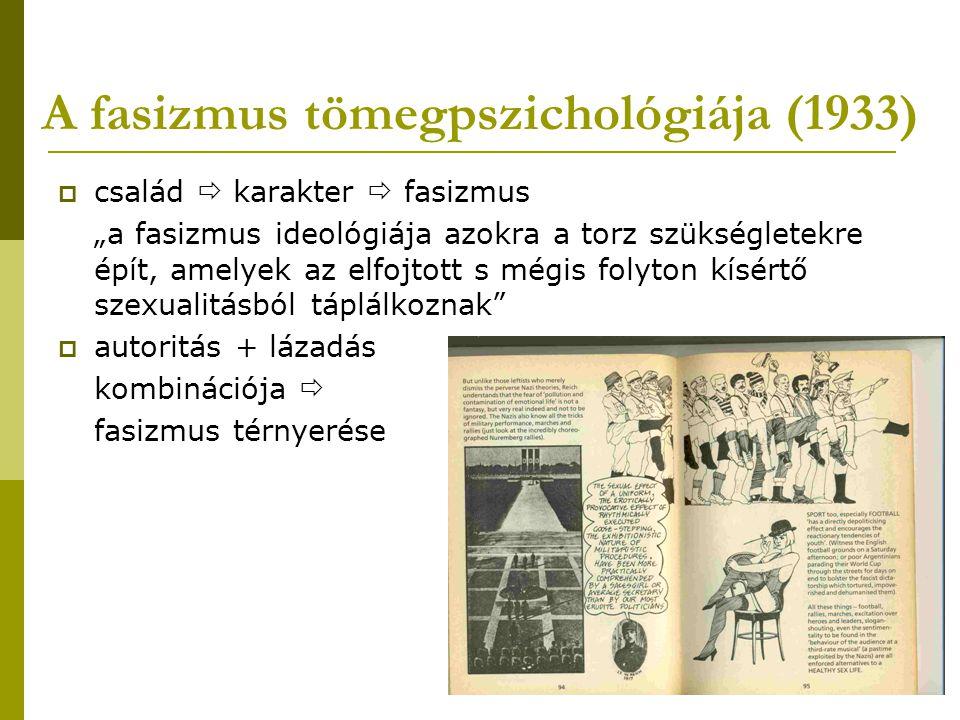 A fasizmus tömegpszichológiája (1933)
