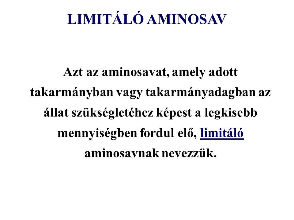 LIMITÁLÓ AMINOSAV