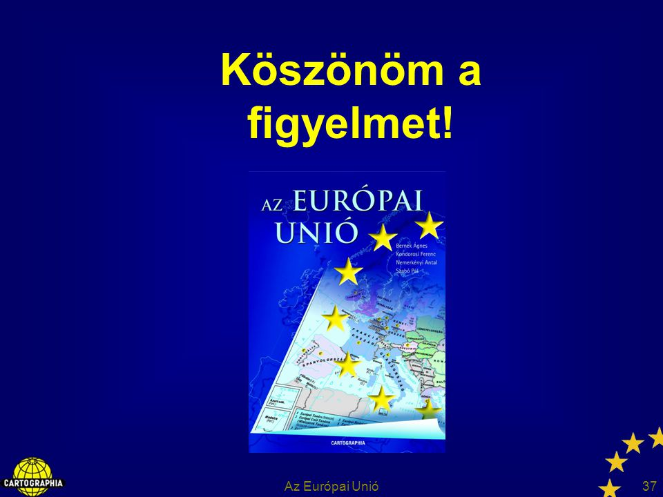 Köszönöm a figyelmet! Az Európai Unió