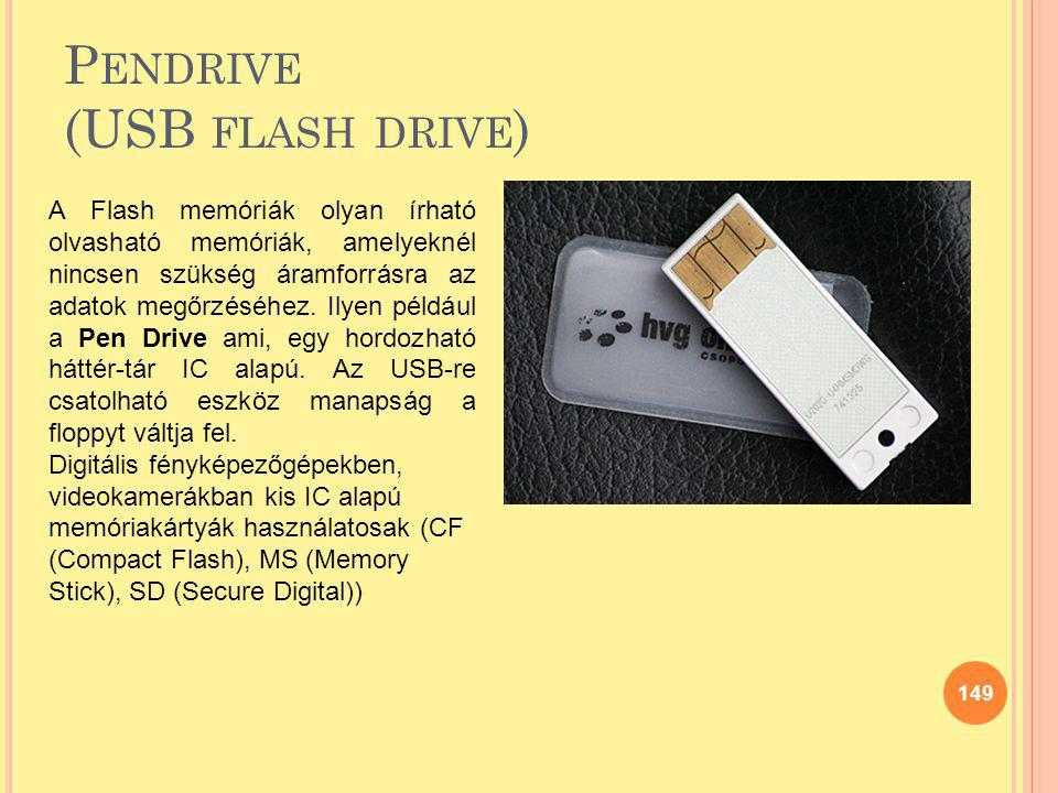 Pendrive (USB flash drive)