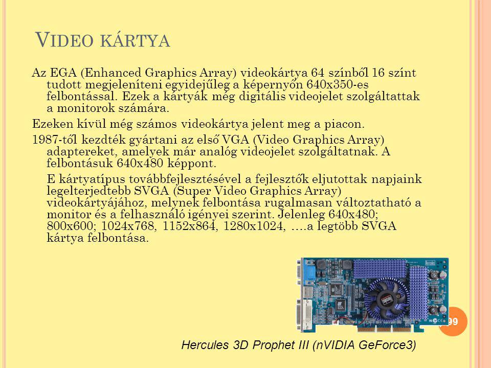 Video kártya