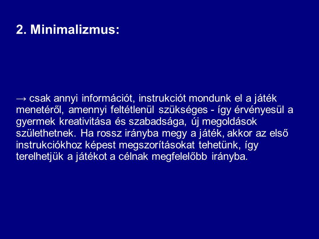 2. Minimalizmus: