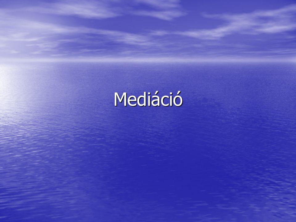 Mediáció
