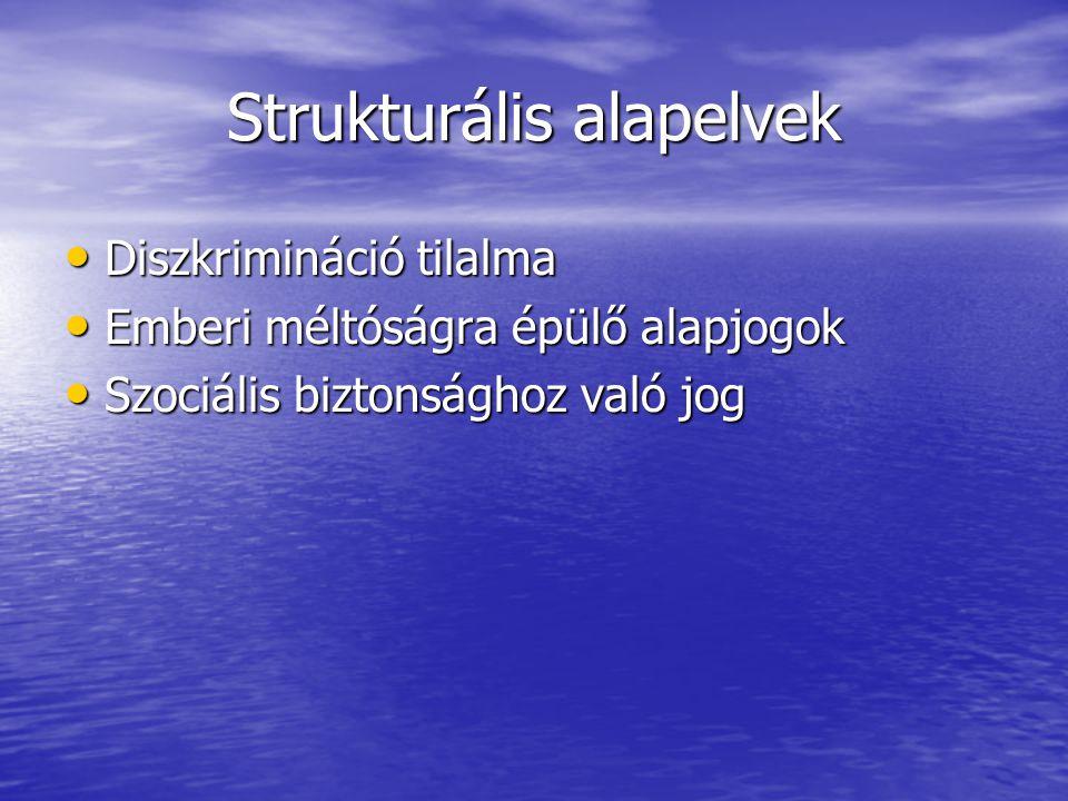 Strukturális alapelvek