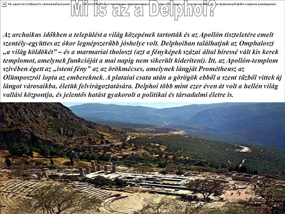 Mi is az a Delphoi
