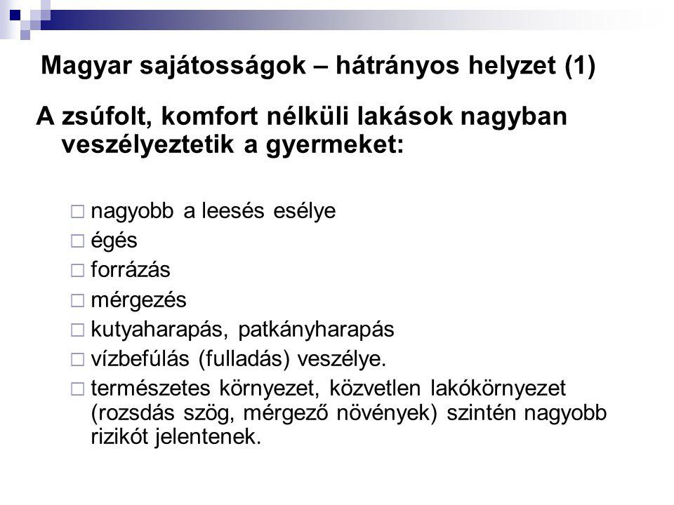 Magyar sajátosságok – hátrányos helyzet (1)