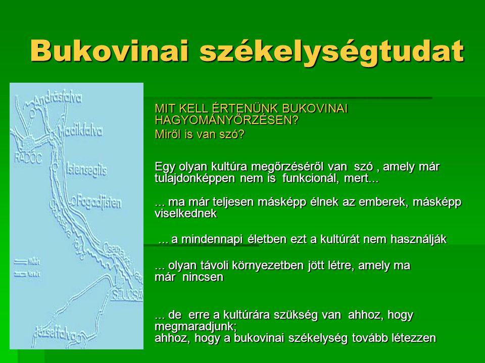 Bukovinai székelységtudat