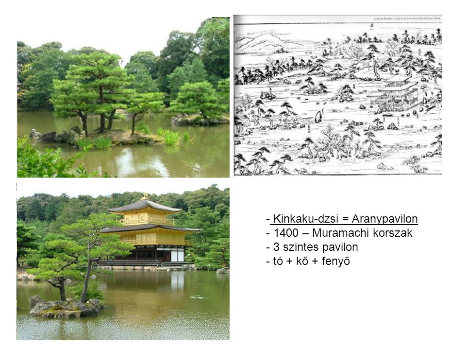 Kinkaku-dzsi = Aranypavilon