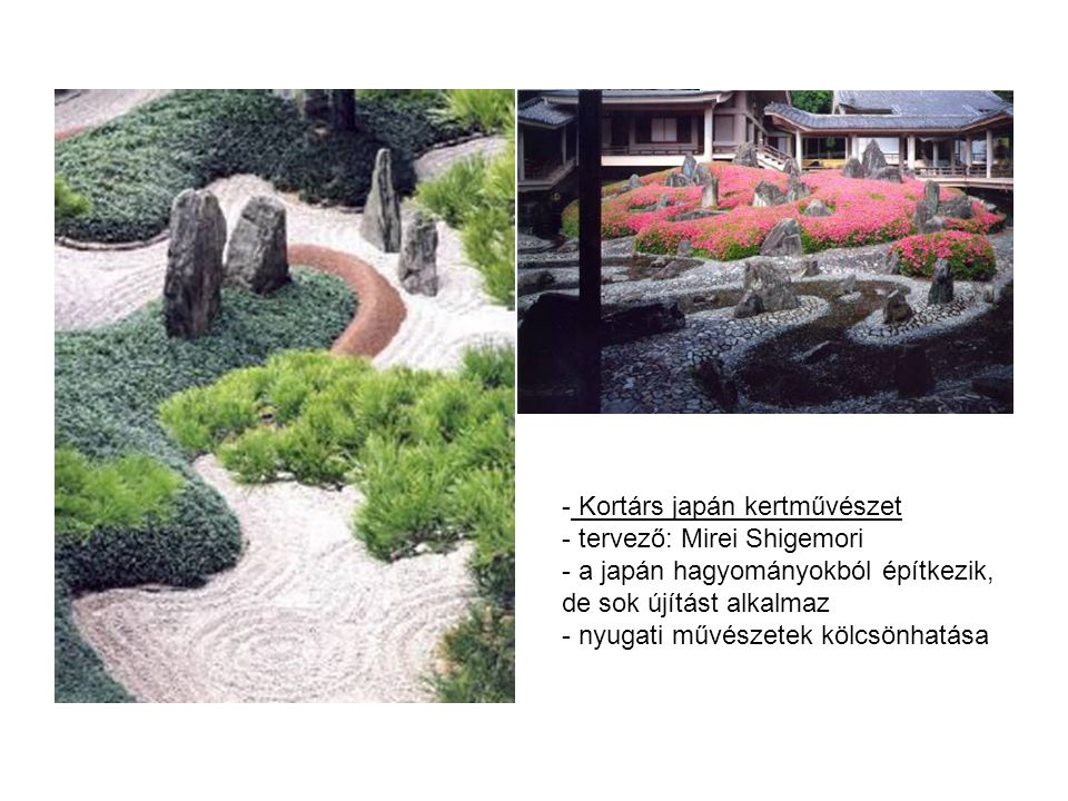 Kortárs japán kertművészet