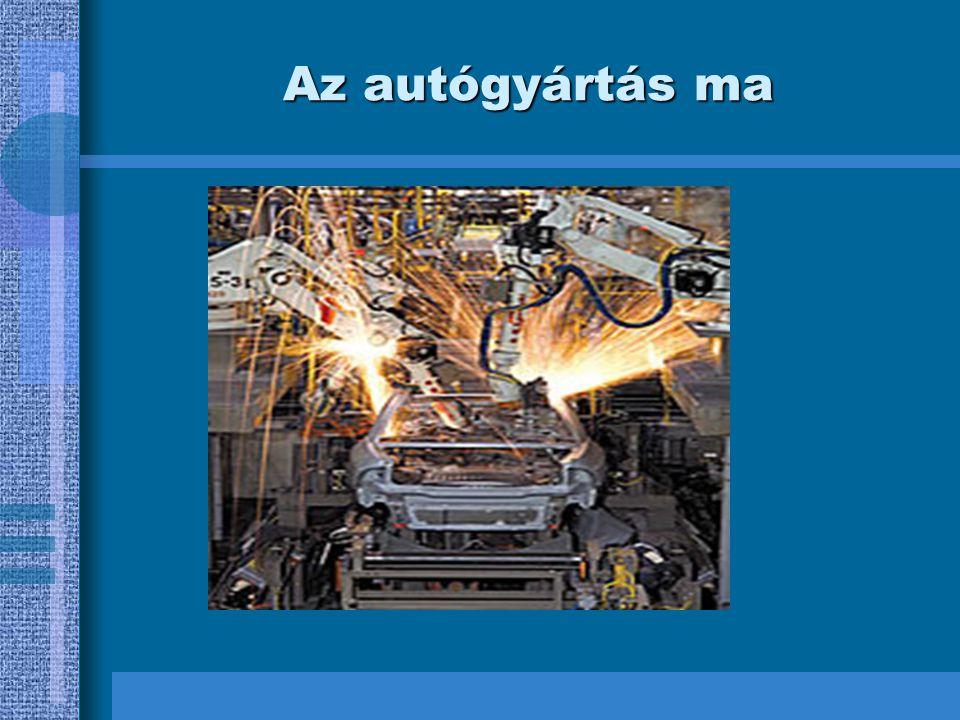 Az autógyártás ma