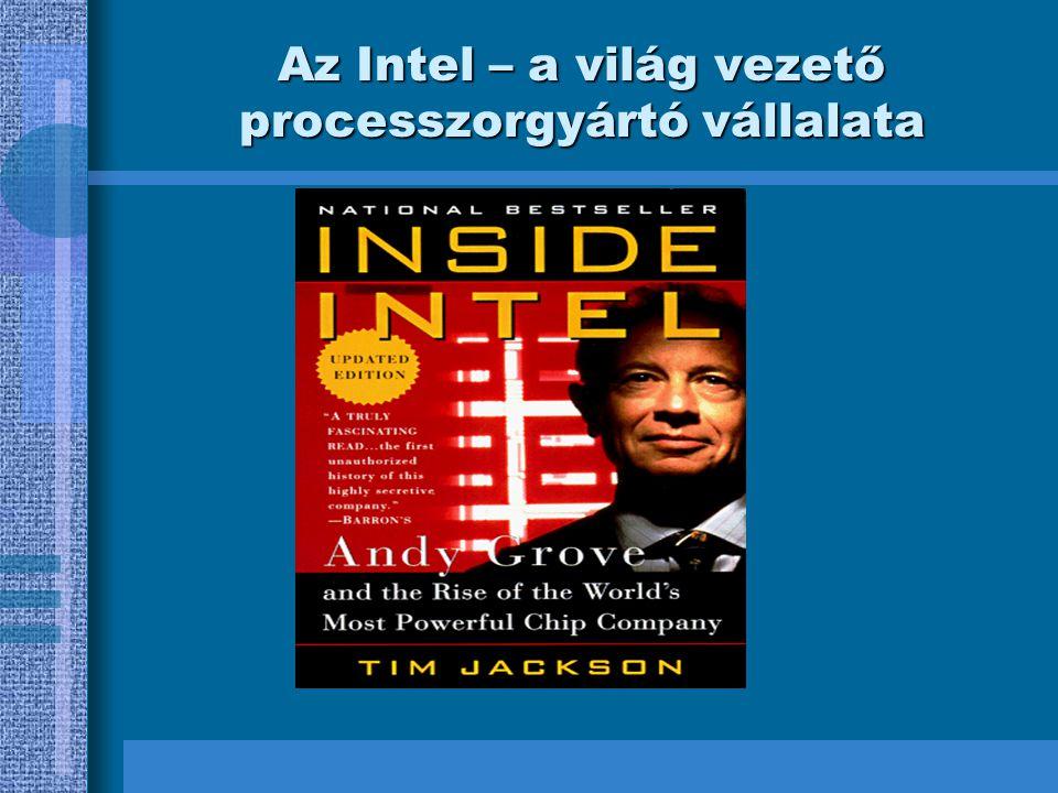 Az Intel – a világ vezető processzorgyártó vállalata