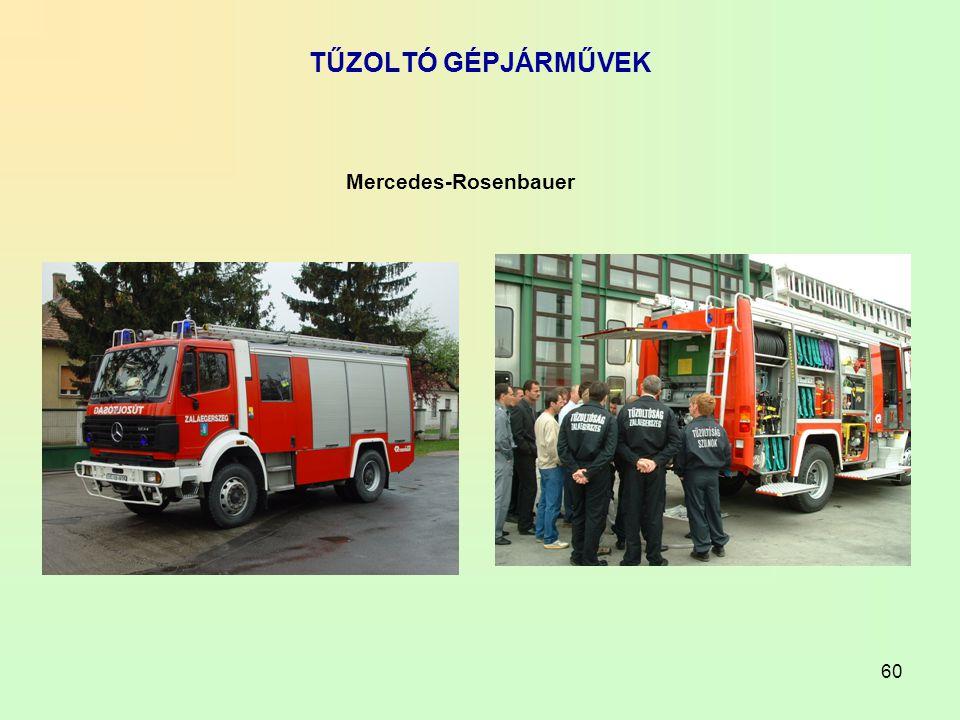 TŰZOLTÓ GÉPJÁRMŰVEK Mercedes-Rosenbauer