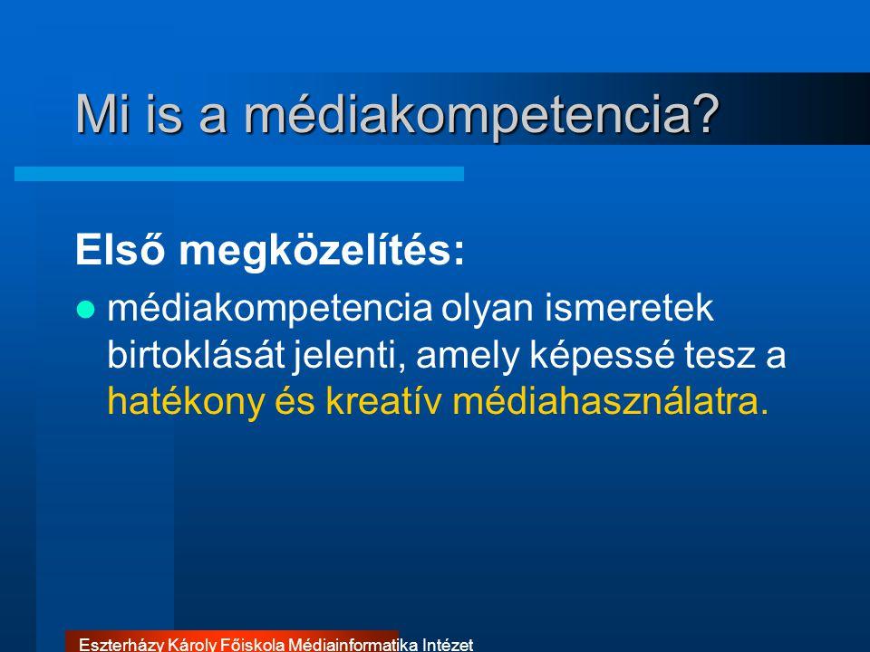 Mi is a médiakompetencia