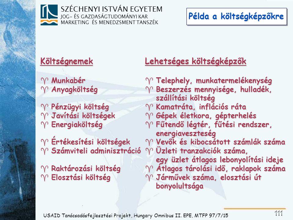Diagnosztikai táblázat