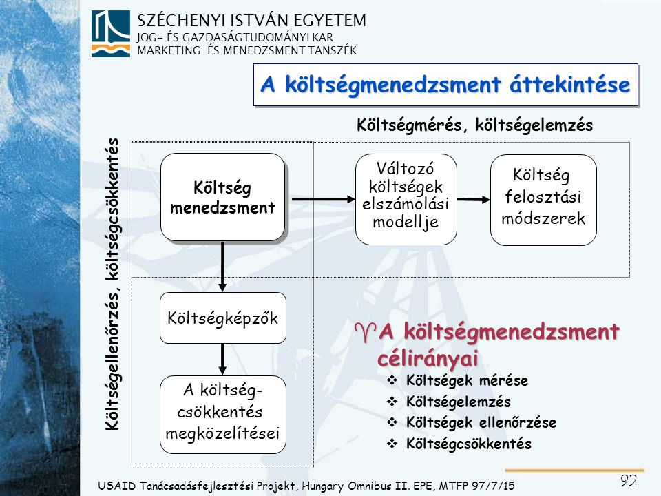 Költség-kategorizáció