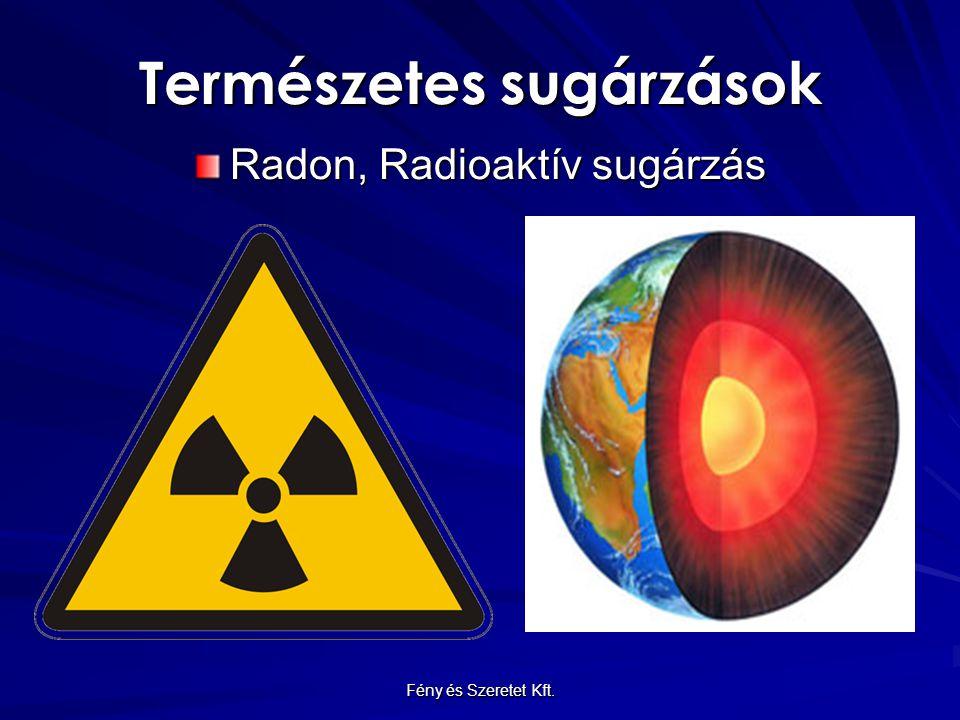 Természetes sugárzások