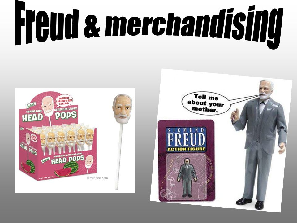 Freud & merchandising