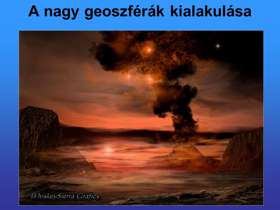 A nagy geoszférák kialakulása