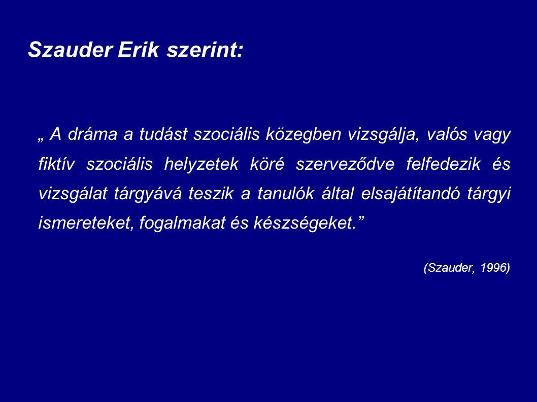 Szauder Erik szerint: