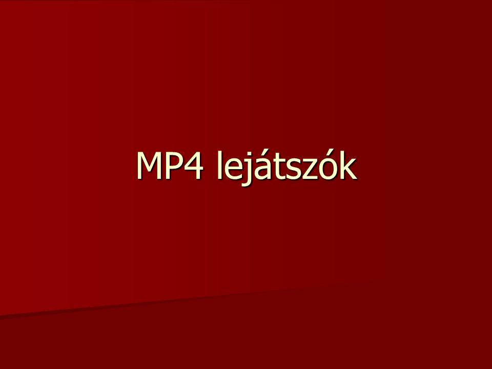 MP4 lejátszók