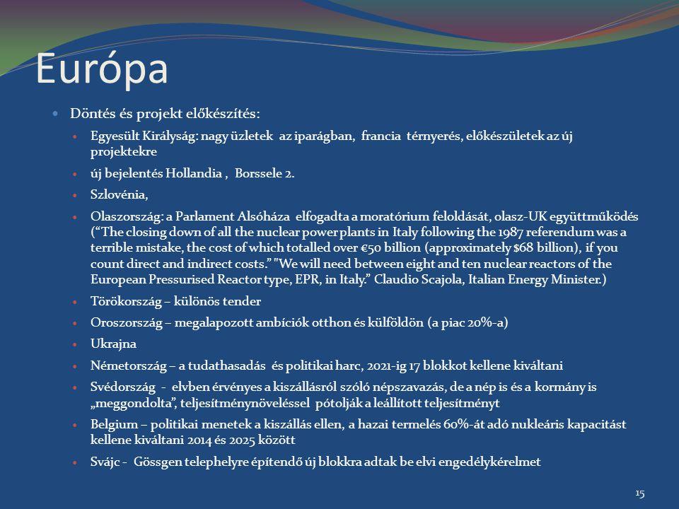 Európa Döntés és projekt előkészítés: