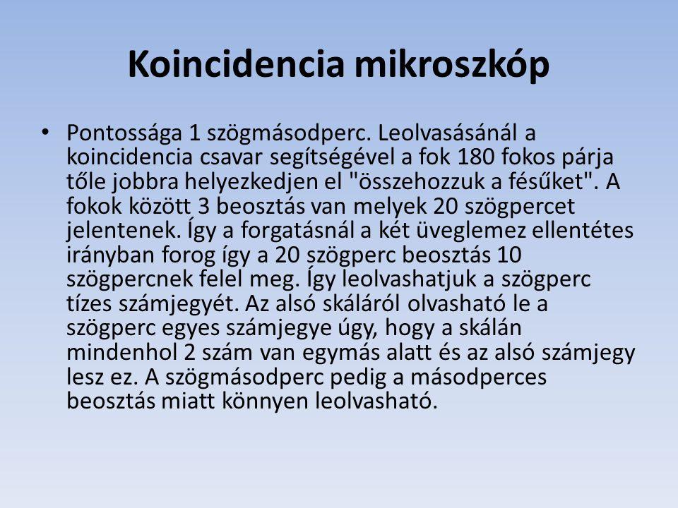 Koincidencia mikroszkóp