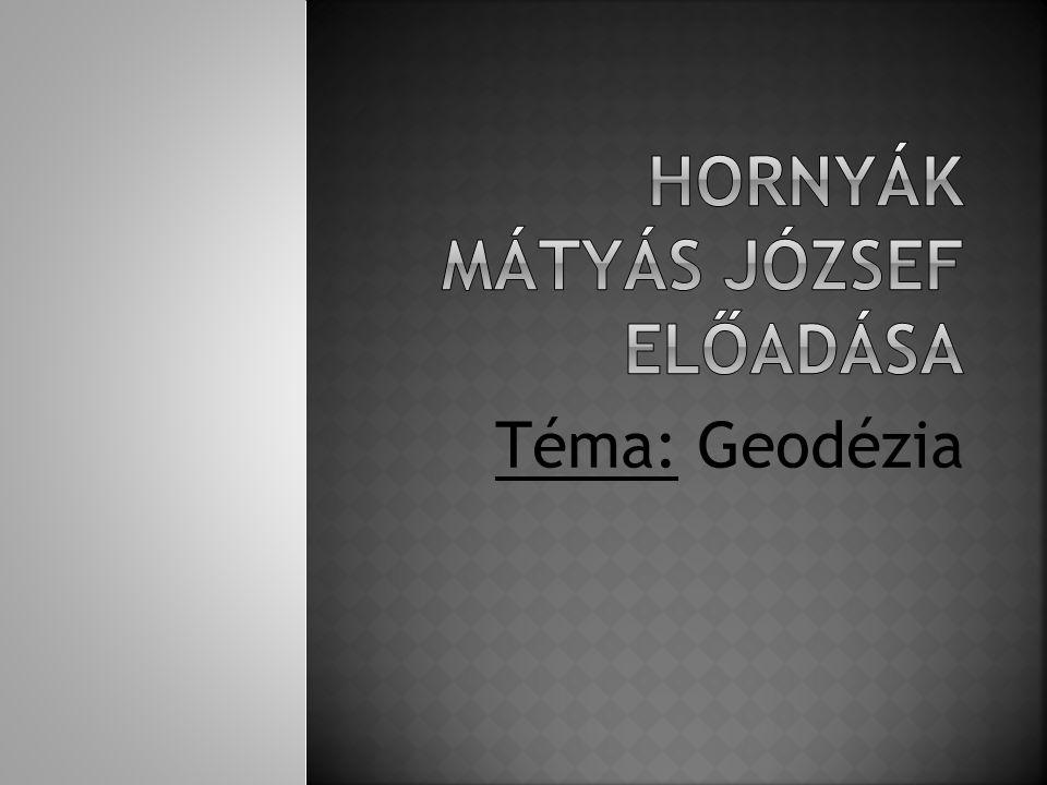 Hornyák Mátyás József előadása
