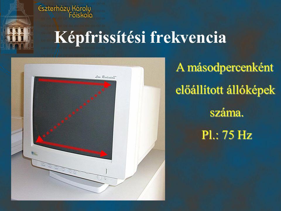 Képfrissítési frekvencia