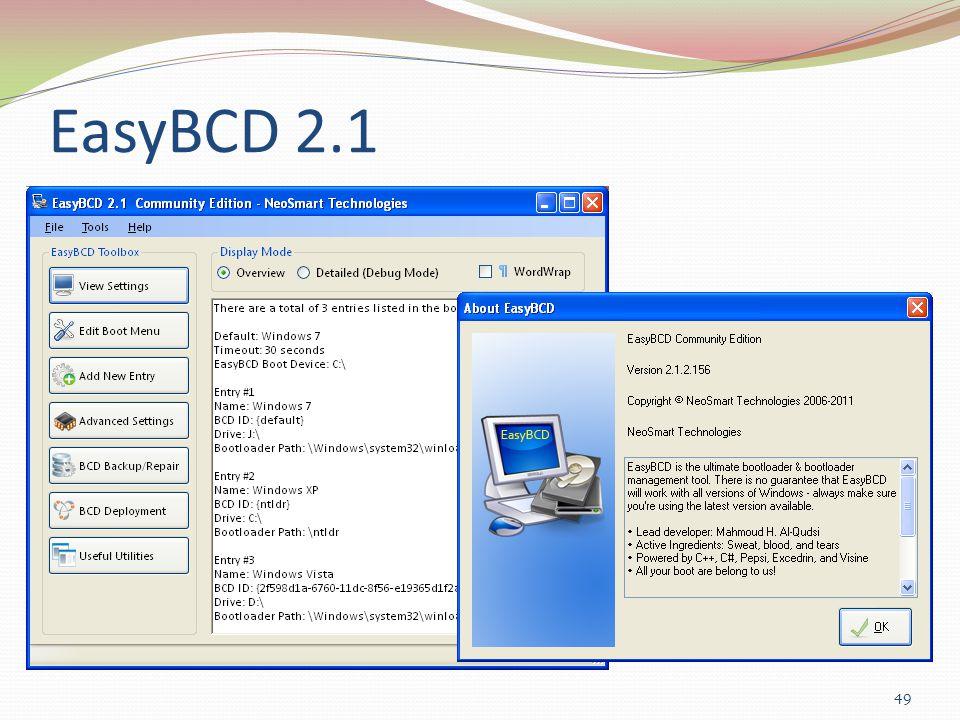 EasyBCD 2.1