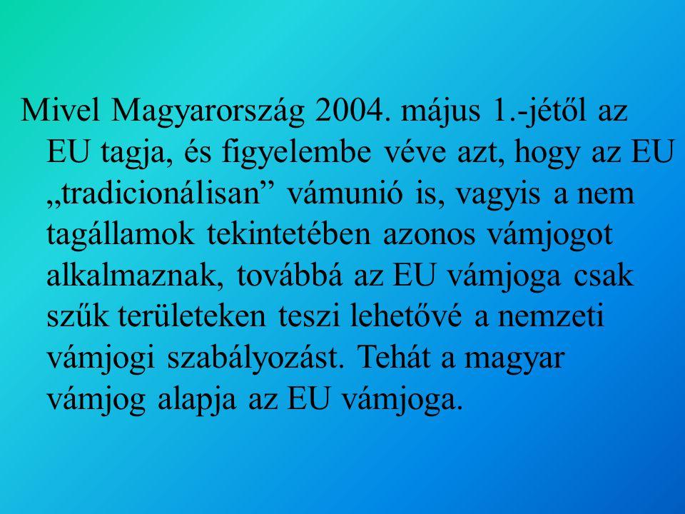 Mivel Magyarország 2004. május 1