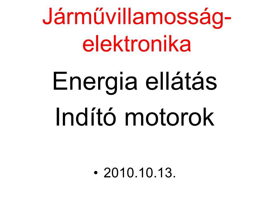 Járművillamosság-elektronika