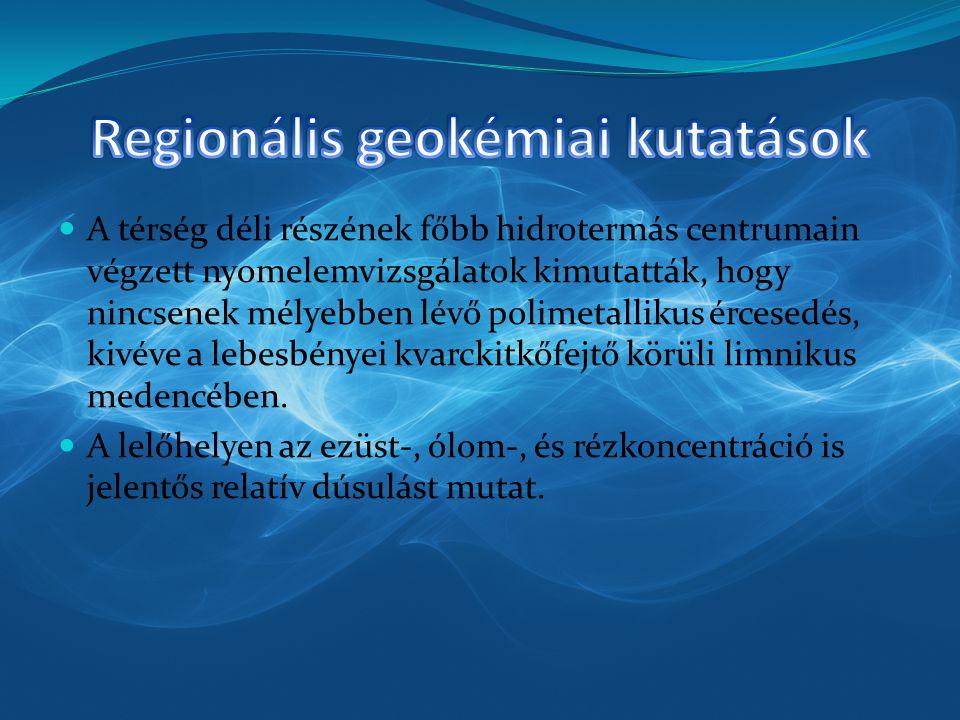 Regionális geokémiai kutatások
