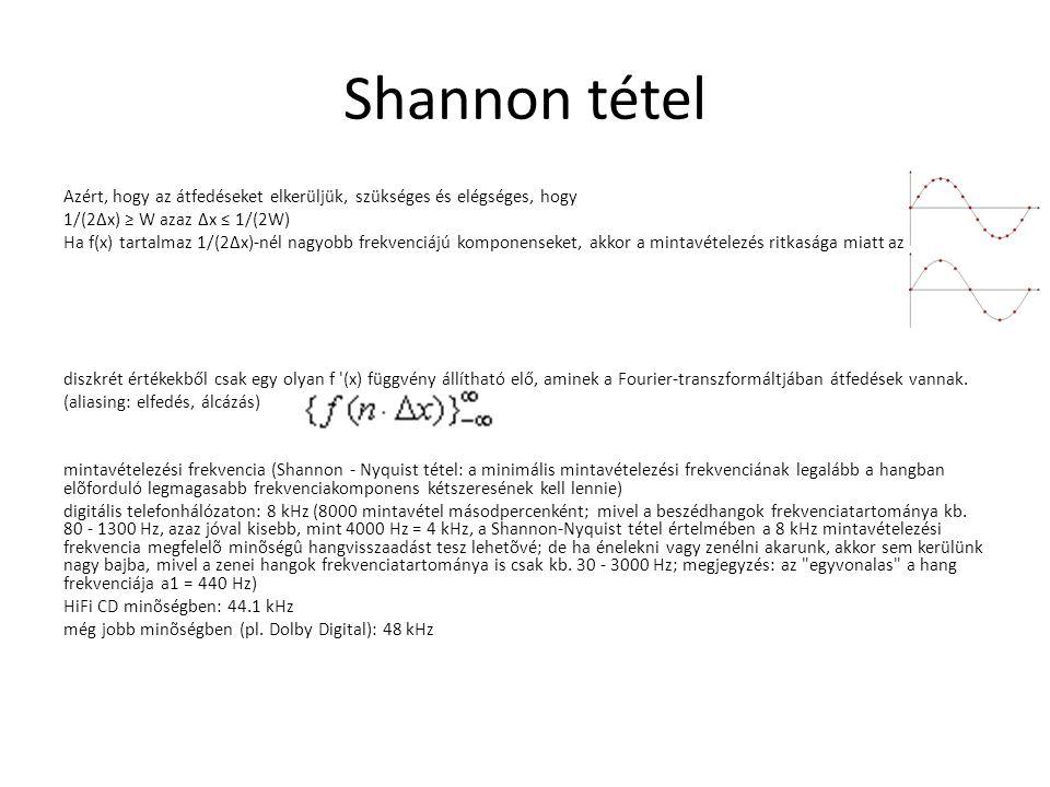 Shannon tétel