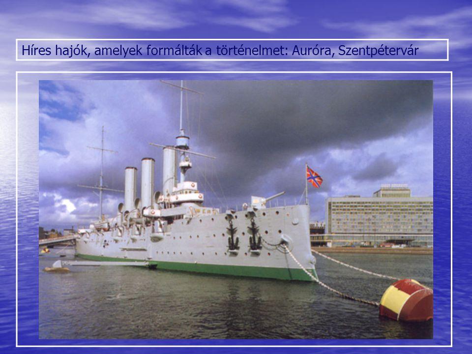 Híres hajók, amelyek formálták a történelmet: Auróra, Szentpétervár